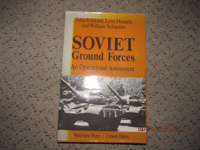 Image for Soviet Ground Forces: Operational Assessment