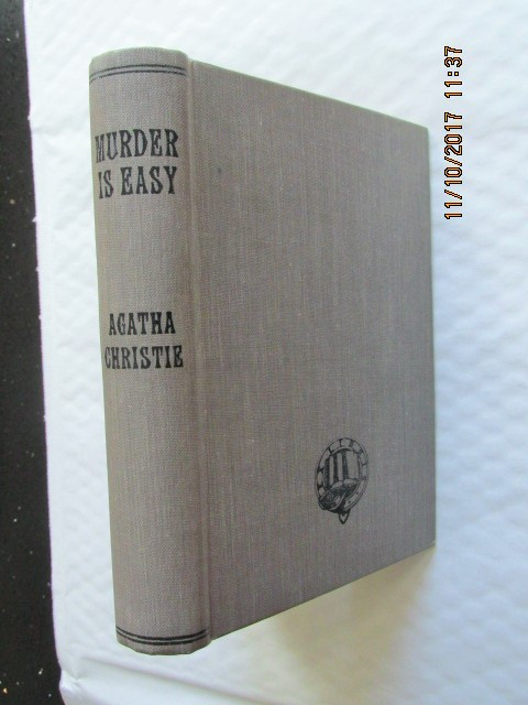Image for Murder is Easy [ 1st Edition 1st Impression  1939 ]