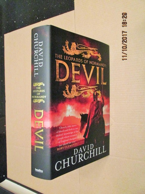 Image for Devil The Leopards of Normandy Fine First Edition Hardback in Dustjacket