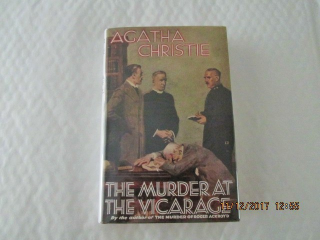 Image for The Murder at the Vicarage ( First Printing of This Facsimile Edition with Wrap-band )