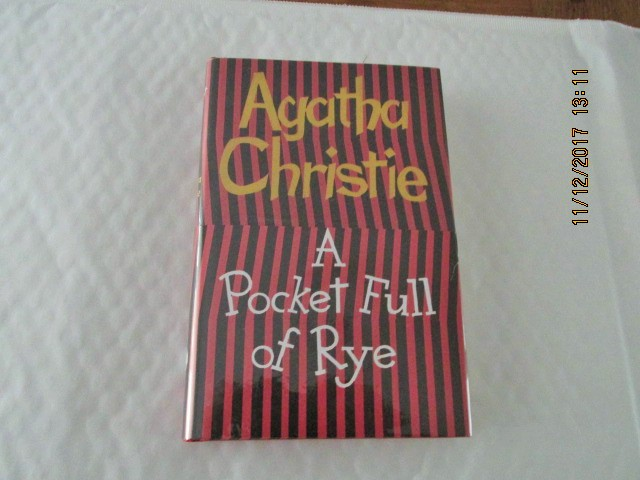 Image for A Pocket Full of Rye Unread Facsimile First Edition Hardback in Dustjacket with Wrap-band