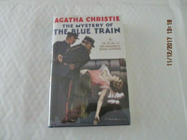 Image for The Mystery of the Blue Train  [ First Printing of This Facsimile Edition with Wrap-band )