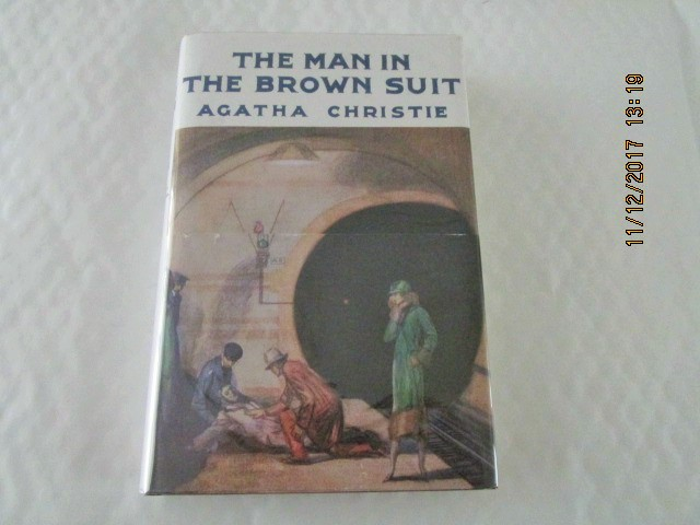 Image for The Man in the Brown Suit  [ First Printing of This Facsimile Edition with Wrap-band )