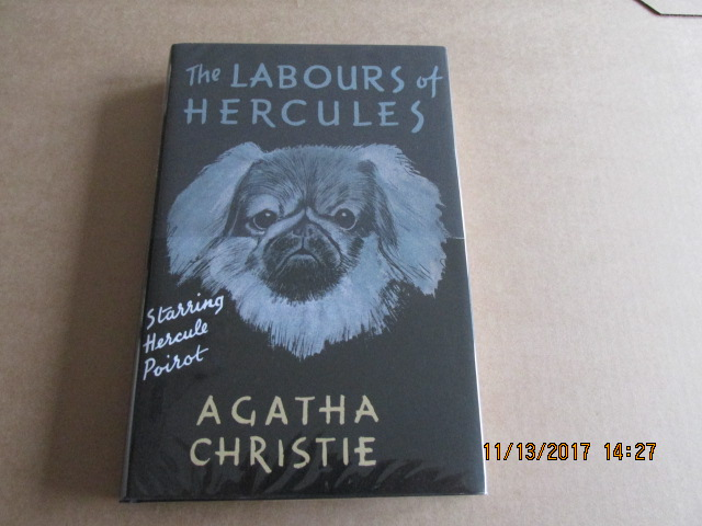 Image for The Labours of Hercules Unread First Printing Facsimile Hardback in Dustjacket with Wrap-band