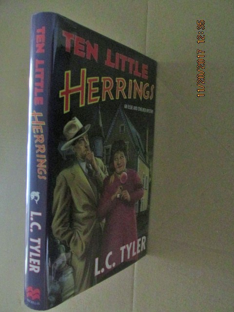 Image for Ten Little Herrings Fine Signed Lined Dated First Edition Hardback in Dustjacket Plus Bookmark
