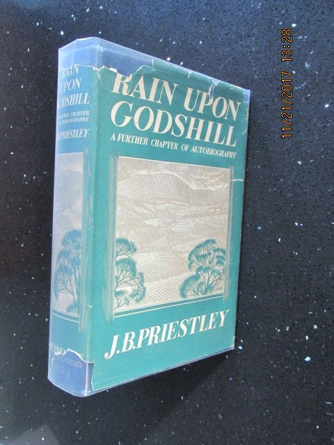 Image for Rain Upon Godshill a Further Chapter of Autobiography 1939 First Edition Hardback in Jacket