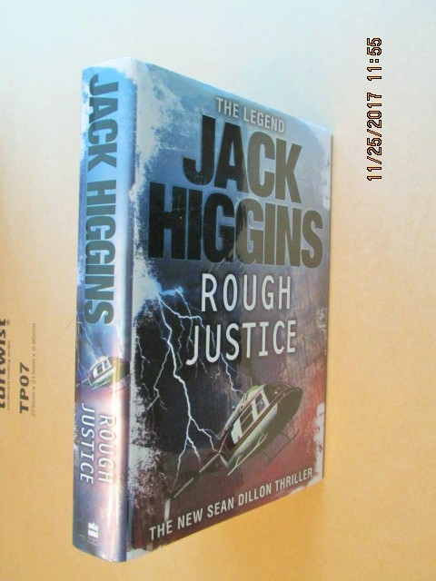 Image for Rough Justice [ a Fine SIGNED First Printing 1st Impression in Dustjacket ]