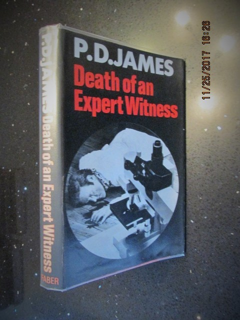 Image for Death of an Expert Witness Signed First Edition Hardback in dustjacket