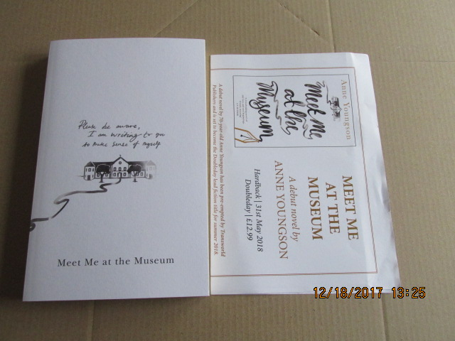 Image for Meet Me at the Museum [ an Uncorrected Bound Proof Plus Publicity Letter ]