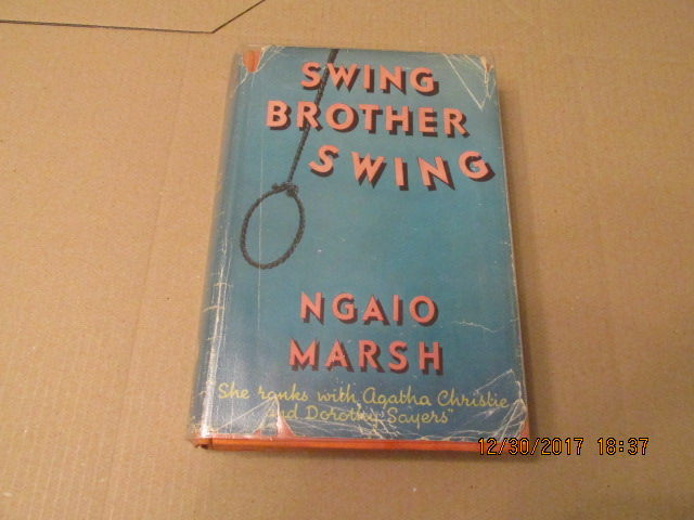 Image for Swing Brother Swing First Edition Hardback in Dustjacket