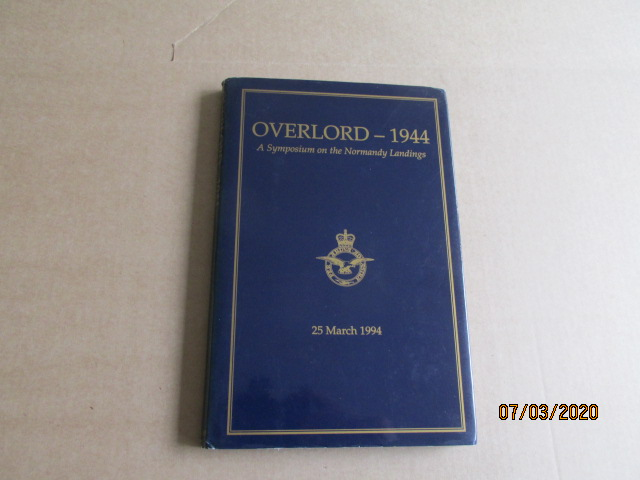 Image for Overlord 1944  A Symposium on the Normandy Landings