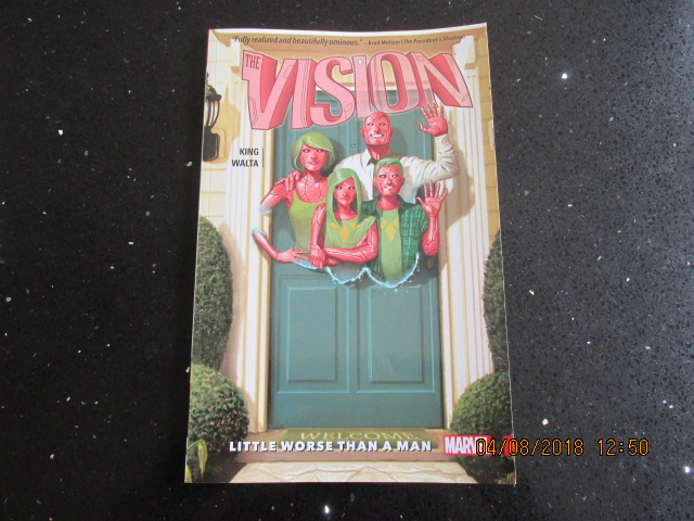 Image for The Vision 1 Little Worse Than a Man
