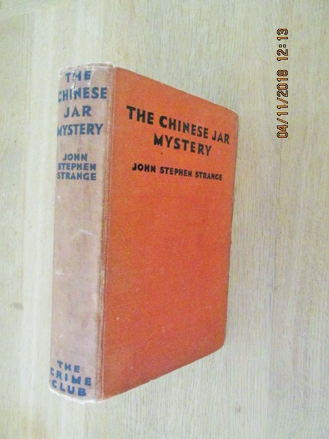 Image for The Chinese Jar Mystery