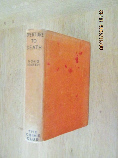 Image for Overture to Death First Edition Hardback