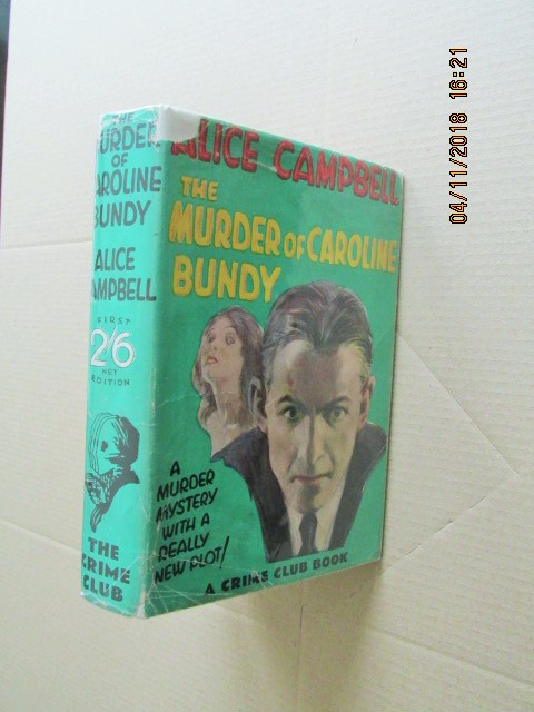 Image for The Murder of Caroline Bundy