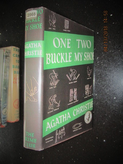 Image for One Two Buckle My Shoe First Edition Hardback in Colour Photo-copy Jacket