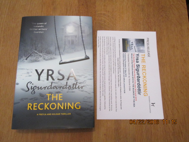 Image for The Reckoning Unread First Printing Plus Publicity Letter