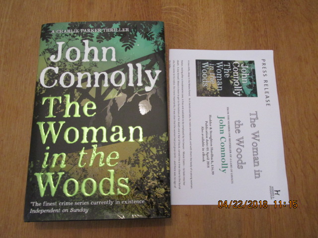 Image for The Woman in the Woods  [an Unread First Printing Plus Publicity Letter  ]