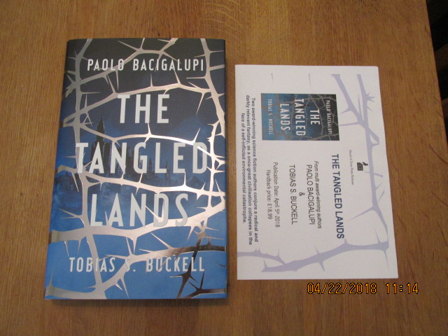 Image for The Tangled Lands  [ Unread First Impression Plus Publicty Letter ]