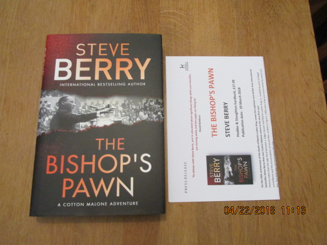 Image for The Bishop's Pawn [ Unread First Impression Plus Publicty Letter ]