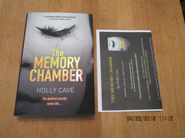 Image for The Memory Chamber first Edition Hardback in Dustjacket Plus Publicity Lette
