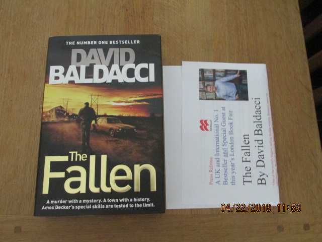 Image for The Fallen [ Unread First Impression Plus Publicty Letter ]