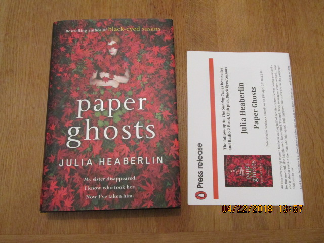 Image for Paper Ghosts  [ Unread First Impression Plus Publicty Letter ]