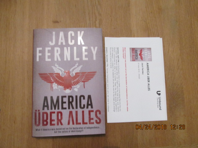 Image for America Uber Alles Unread First Edition Plus Publicty Letter