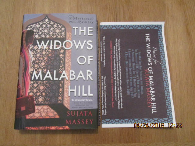 Image for The Widows of Malabar Hill [ Unread First Impression Plus Publicty Letter ]