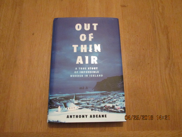 Image for Out of Thin Air First Edition Hardback in Dustjacket