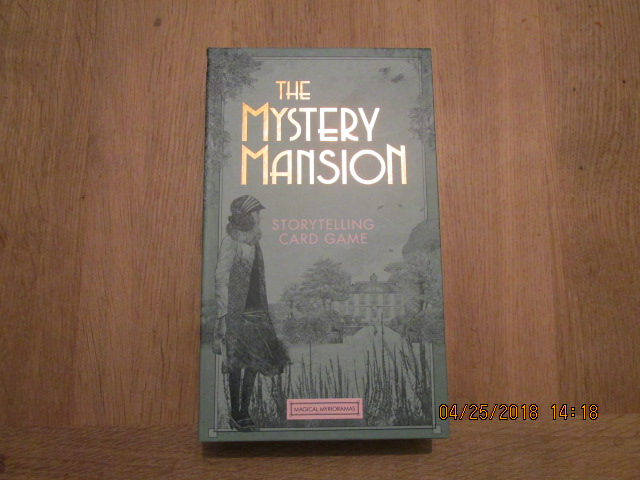 Image for The Mystery Mansion Storytelling Card Game  [ Cards Still Sealed in Cellophane Inside the Box ]