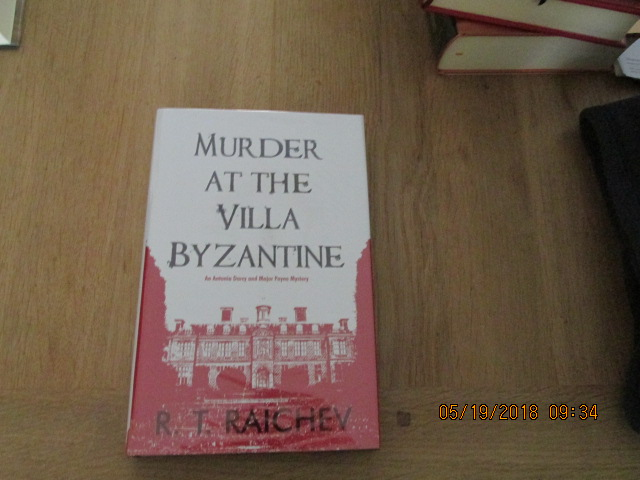 Image for Murder at the Villa Byzantine [ Signed and Dated By Author 1st Printing  Fine Copy  ]