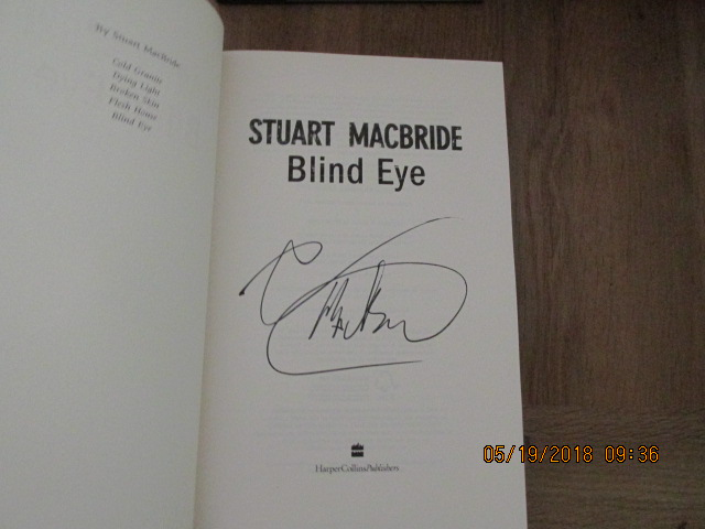 Image for Blind Eye [ First Impression with Full Signature of Author ]