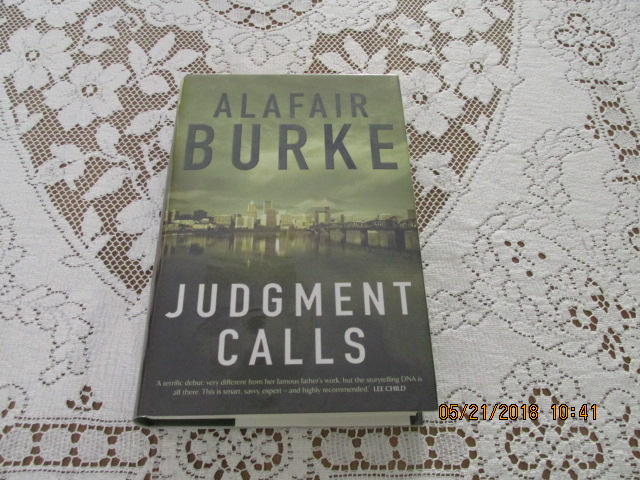 Image for Judgement Calls Signed First edition hardback in Dustjacket