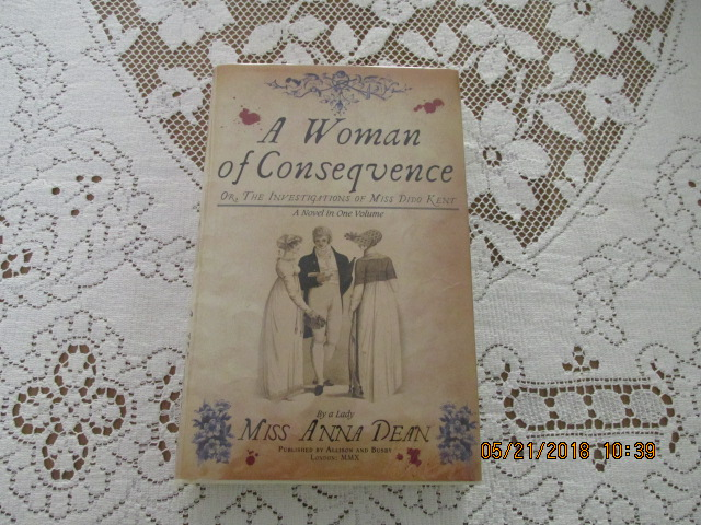 Image for A Woman of Consequence [ a Fine First Edition First Impression ]