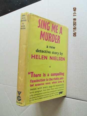 Image for Sing Me a Murder First Edition Hardback in Dustjacket