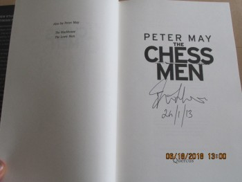 Image for The Chess Men [ Signed and Dated First Edition First Impression Hardback in Dustjacket ]