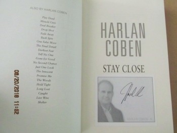 Image for Stay Close [ a Fine First Printing with Special Signed Bookplate ]
