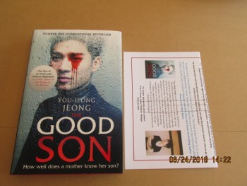 Image for The Good Son  First Edition First Impression Hardback in d w Plus Publicty Letter