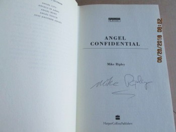Image for Angel Confidential [ A Signed First Edition Hardback in Dustjacket ]