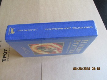Image for Harry Potter and the Half-Blood Prince Deluxe Edition First Edition First Printing Still Sealed in Cellophane