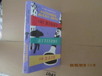 Image for The Right Attitude to Rain Signed First Edition  Hardback in Dustjacket