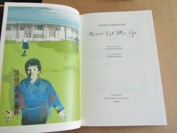 Image for Never Let Me go [ a Fine First Folio Society Edition in Slipcase ]
