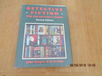 Image for Detective Fiction the Collector's Guide Second Edition First Printing Hardback in Dust Wrappers, 1920-70  Fine First edition Hardback in Dustjacket