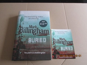 Image for Buried Signed First edition Hardback in Dustjacket Plus Postcard