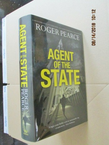 Image for Agent of the State First Edition Hardback in Dustjacket