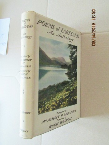 Image for Poems of Lakeland an Anthology  First Edition Hardback in Dustjacket