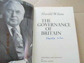 Image for The Governance of Britain Signed First Edition Hardback in Dustjacket