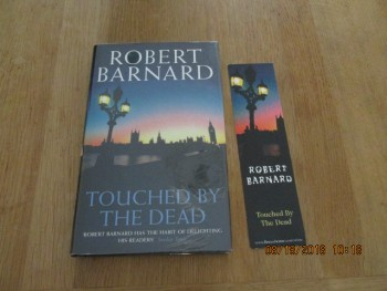 Image for Touched By the Dead Signed First Edition Hardback in Original Dustjacket Plus Bookmark