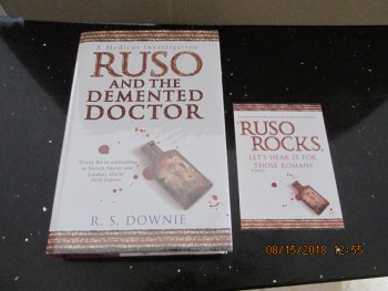 Image for Ruso and the Demented Doctor Signed Lined Dated Plus Postcard